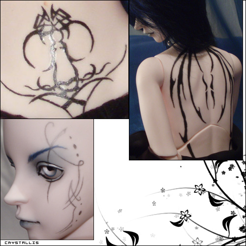 ¤Les Make-up de Crys¤ Luts, Fairyland, Soom, DZ p4 26/06 Omen-tatoo